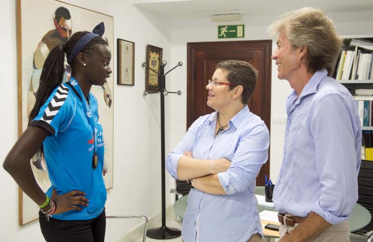 Reunión con Rafa Blanquer y Fátima Diame foto_Abulaila (1)
