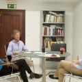 Reunión con Rafa Blanquer y Fátima Diame. Foto: Abulaila