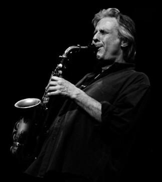 Sambeat en uno de sus conciertos en el Jimmy Glass.