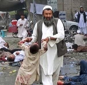 Serían más de 100 las personas que murieron en el atentado, según las autoridades.