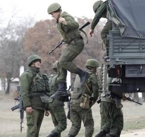 Soldados rusos en prácticas en una imagen de archivo.