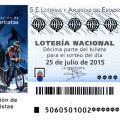 Sorteo de Lotería Nacional25 de julio de 2015