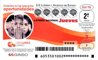 Sorteo del jueves de Lotería Nacional 2 de julio de 2015