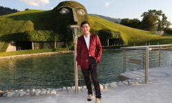 WATTENS, AUSTRIA - JULY 02: BryanBoy during the Swarovski new collection launch event on July 2, 2015 in Wattens, Austria. (Photo by Gisela Schober/Getty Images for Swarovski)