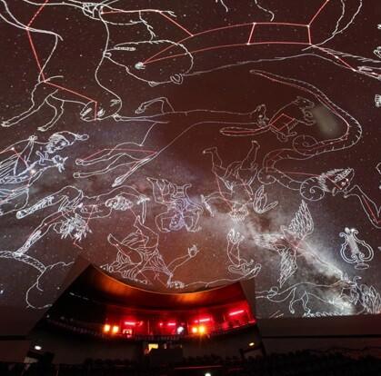 Todo un espectáculo visual para conocer el cosmos.