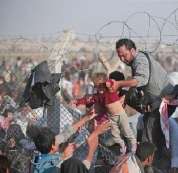 Turquía ha informado que ha recibido a buena parte de la última ola de refugiados.