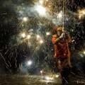 Una de las fotografías de David Cantillo sobre los rituales del fuego.
