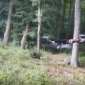 Video muestra a un dron que dispara con una pistola
