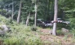 Video muestra a un dron que dispara con una pistola