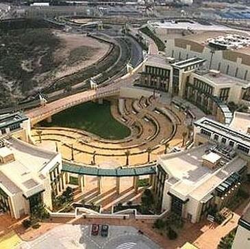 Vista aérea de la Ciudad de la Luz.