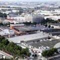 Vista de una zona industrial en Valencia.