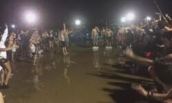 #arenalsound2015  arenal sound 2015 inundacion tormenta  (1)