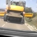 Detenido el conductor de la cosechadora destructora de Cuenca