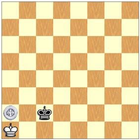 Diagrama de la App, con una de las posiciones en las que el mate se logra en 18 jugadas