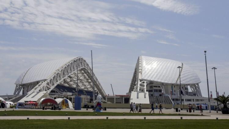 El Estadio Olímpico Fisht se ubica en Sochi,
