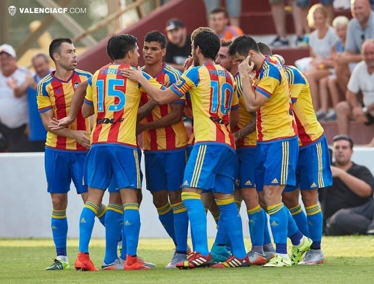 Los éxitos del Valencia CF son cada vez más seguidos en Asia. Foto: Lázaro de la Peña / VCF