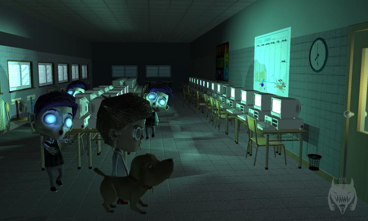 Ian's Eyes, videojuego desarrollado en Florida Replay, está protagonizado por un personaje invidente que se enfrenta a temibles peligros.