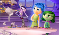 INSIDE OUT – Pictured (L-R): Fear, Joy, and Disgust. ©2015 Disney•Pixar. All Rights Reserved.