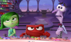 "Disgust, Anger and Fear must cope with unexpectedly being in command of Headquarters in Disney•Pixar's ""Inside Out"". ©2015 Disney•Pixar. All Rights Reserved."