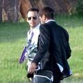La boda de Alejandro Amenábar y David Blanco