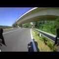Los Mossos denuncian un conductor para poner en peligro a un ciclista en la comarca de la Selva