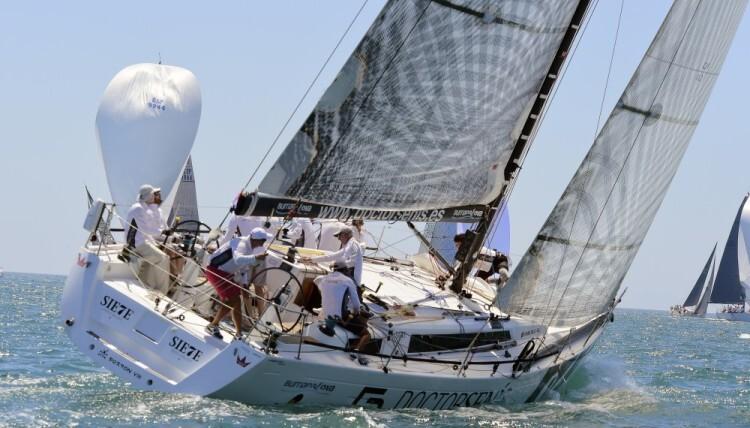 Regata de  la copa de la reina en el nautico de valencia  Julio 05,2014. AFP PHOTO/ JOSE JORDAN