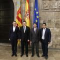 El President de la Generalitat, Ximo Puig, se reúne con los presidentes de las Diputaciones Provinciales. 29/07/2015. Foto: J.A.Calahorro/GVA.