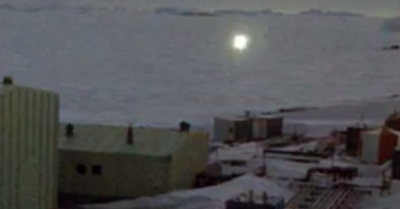 ufo-antarctica ovni cubo