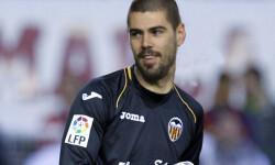 Valdés podría acabar vistiendo la camiseta del Valencia CF.