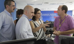 La vicepresidenta del Consell visita el Centro de Coordinación de Emergencias de la Generalitat