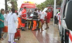 19/08/2010 - BURRIANA - CONSECUENCIAS DEL TORNADO EN LA PLAYA DEL ARENAL CON UN FALLECIDO - FOTO GABRIEL UTIEL