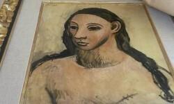 Imagen de 'Cabeza de mujer joven' facilitada por la Aduana francesa.