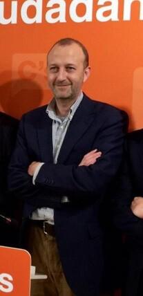 Alexis Marí,síndic adjunto de Ciudadanos en Les Corts valencianas.
