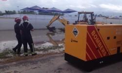 #ArenalSound2015 Un amplio dispositivo coordinado desde PMA trabaja ininterrumpidamente para mitigar efectos lluvia1