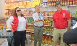Ayuda alimentaria española de emergencia a la población no refugiada de la Franja de Gaza