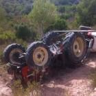 Mor un home a Lleida (Segrià) en bolcar el tractor que conduïa