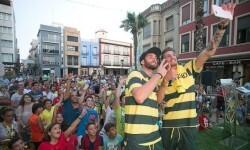 Baptistao y Samuel Castillejo reunieron a cientos de aficionados en la presentación que tuvo lugar en Benicarló.