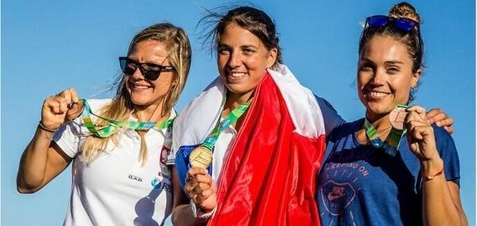 Blanca Manchón, bronce en el Preolímpico de Río, con Iván Pastor, quinto