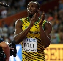 Bolt sigue mostrándose intratable en los 100 metros.