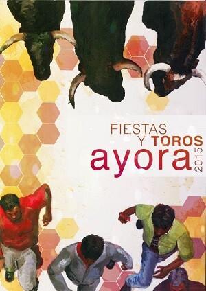 Cartel de las fiestas de Ayora 2015.