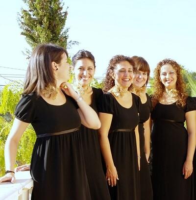 Componen DeMúsica Ensemble, Susana Almazán, Eva Sánchez, Rocío Ruiz, Consuelo Garres, Nuria Díaz y M.ª Ángeles Zapata.