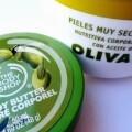 Crema corporal con aceite de oliva de la marca Deliplus.