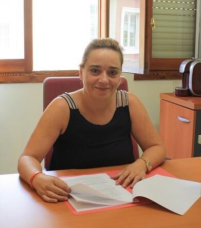 Cristina Suárez, edil de Empleo en el Ayuntamiento de Chiva.