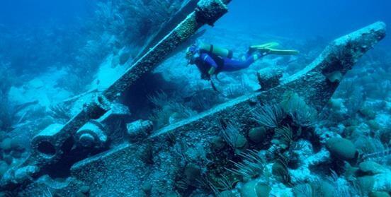 Cuidando los tesoros bajo el mar
