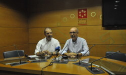 La Diputación colabora con el partido de fútbol solidario que enfrentará mañana al CD Benicàssim y el CD Castellón División de Honor a favor de la Fundación Borja Sánchez
