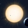 Ilustración del exoplaneta HD 219134b, otros tres 'compañeros' y su estrella. / Avet Harutyunyan/ TNG
