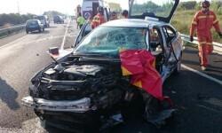 Dos personas mueren al chocar tres turismos en Cullera. (Imagen de archivo).