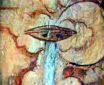 El Hombre de Marte de Fergana (pintura rupestre) (3)