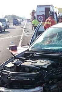 El accidente se produjo sobre las 3 de la madrugada. (Imagen de archivo).