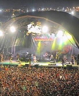 El festival de reggae Rototom.